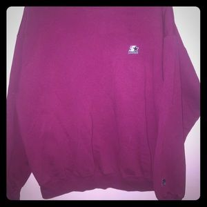 Vintage Starter crew neck sweatshirt Medium